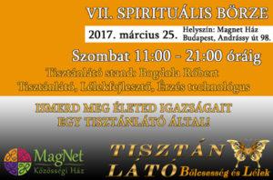 VII. Spirituális Börze  Tisztánlátó Stand
